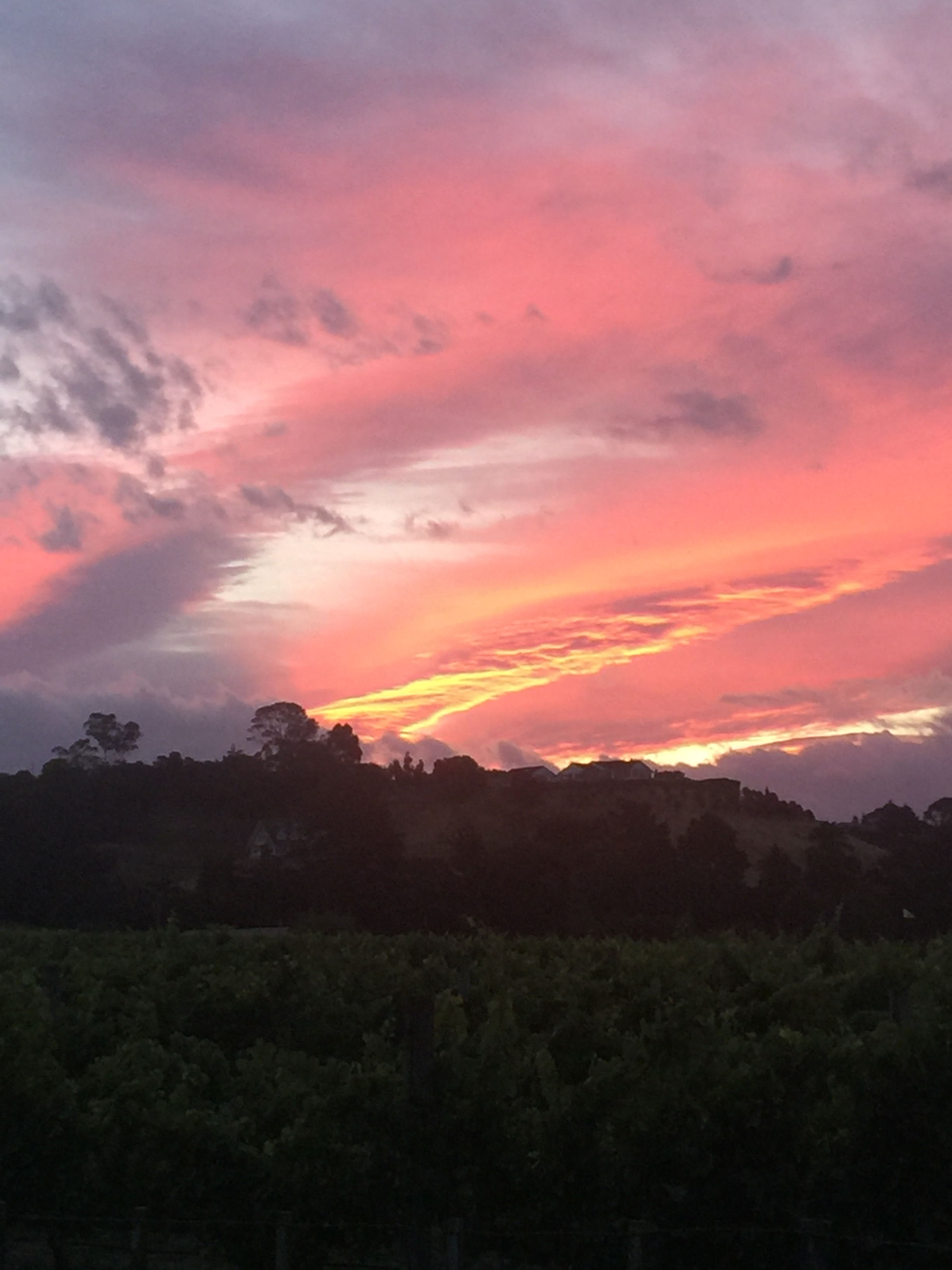 Black Barn Sunset 2017